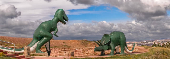Fighting Dinosaurs of Rapid City