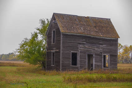 An old house in the Sheyenne Valley of North Dakota
