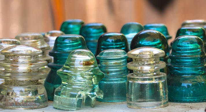 Old Glass Insulators